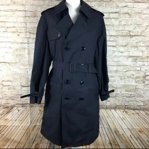 NWT Men DSCP Garrison Collection Trench Coat 42XL